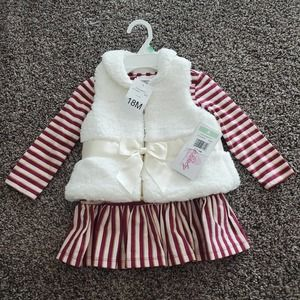 Bonnie baby 2pc outfit NWT 18m